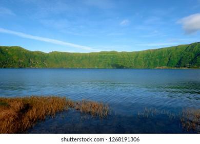 Beautiful View over Sete Cidades Lake, Azores