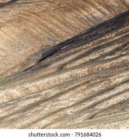 Beautiful view of  Pamir Mountains in Tajikistan