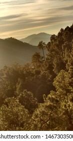 Beautiful view from the point in Kasauli, India