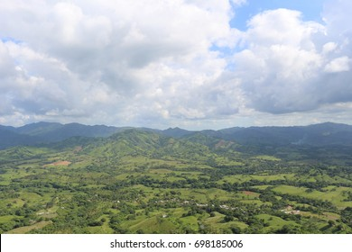 Beautiful view from the Rounded Mountain at Miches, Dominican Republic