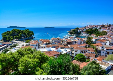 Beautiful view of Skiathos