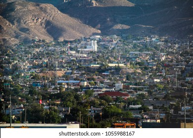 beautiful view of skyline and downtown of El Paso Texas