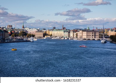Beautiful  view of Stockholm, Sweden