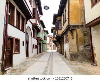 Beautiful view of street in Afyonkarahisar, Turkey