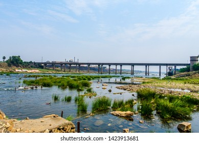 Beautiful View of Subarnarekha river, Jharkhand, India