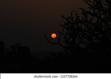 """""""Beautiful View of Sunset from Hemakuta Hill, Hampi, Karnataka"""""""