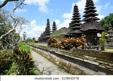 Beautiful view of Taman Ayun Temple, Bali.