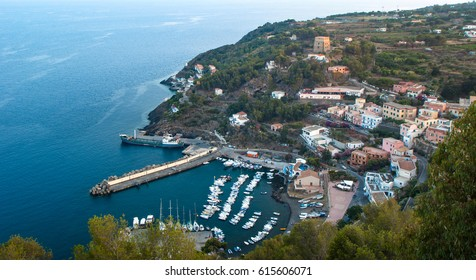 beautiful view of Ustica Island, Sicily