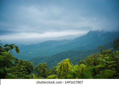 Beautiful View Of Western Ghats Karnataka, India