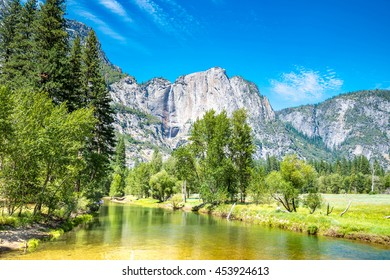 Beautiful view of Yosemite National Park, Mountains and Valley view