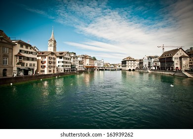 Beautiful view of Zurich, Switzerland