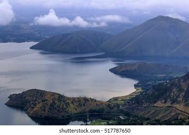beautiful view,,lake toba north sumatra indonesia