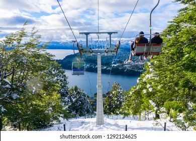 Beautiful views at the Cerro Campanario, Bariloche, Argentina