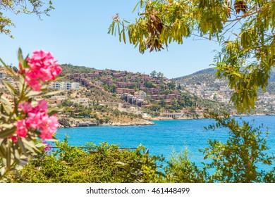 Beautiful views of Kalkan, Turkey