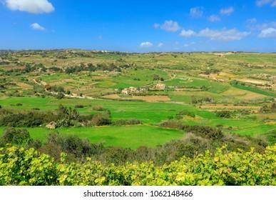 Beautiful views from Mtarfa in Malta