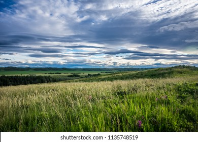 Beautiful views  and scenery at Glenbow Ranch Provincial Park in Cochrane Alberta Canada.