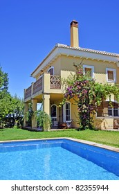 Beautiful villa with pool in Spain