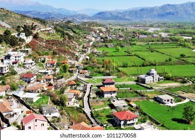 Beautiful village in Albania