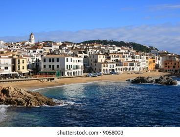 The beautiful village of Calella de Palafrugell (Costa Brava, Catalonia, Spain)