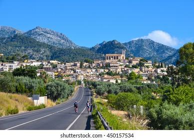Beautiful village of Selva on the island of Majorca in Spain