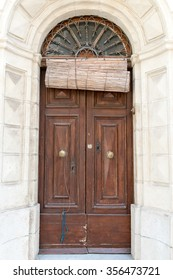Beautiful Vintage architecture and colors on a Door . / Doors of the World