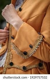 beautiful vintage baroque victorian costume
