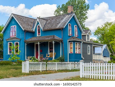 Beautiful vintage old house in north America