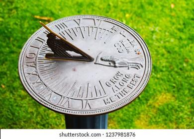 Beautiful Vintage Sundial