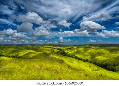 Beautiful Wairinding hill, Waingapu, East Sumba, East Nusa Tenggara, Indonesia