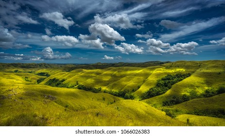 Beautiful Wairinding hill, Waingapu, East Sumba, East Nusa Tenggara, Indonesia
