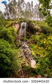 Beautiful waterfall in Ayacucho - Peru