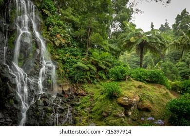 Beautiful waterfall - Azores
