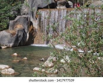The beautiful Waterfall in China
