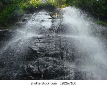 Beautiful waterfall in the Congo. Democratic Republic of Congo