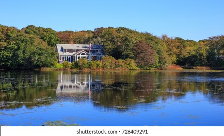 A beautiful waterfront home on Cape Cod, MA.