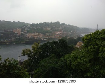 beautiful weather at omkareshwar