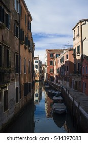 Beautiful weather on the Venice