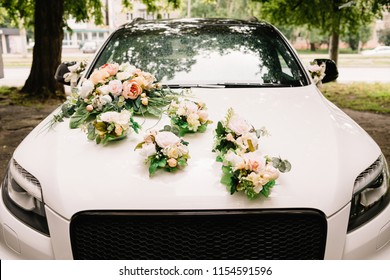 Wedding Car Decoration Images Stock Photos Vectors Shutterstock