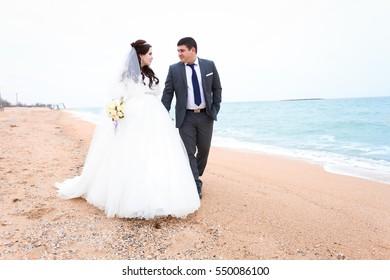 beautiful wedding day, bride and groom