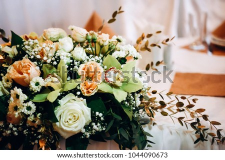 Restaurant Wedding Decoration Shutterstock Decorated Picturesque