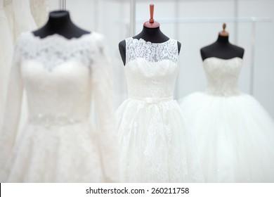 0e2ae4de9 Wedding Dress On a Mannequin Images, Stock Photos & Vectors ...