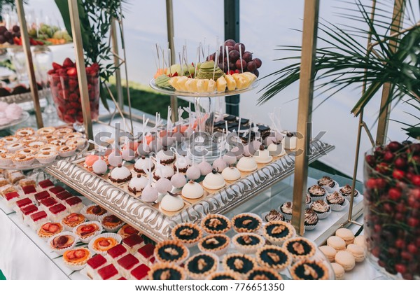 Prime Beautiful Wedding Sweet Buffet Decor Green Stock Photo Edit Download Free Architecture Designs Terstmadebymaigaardcom