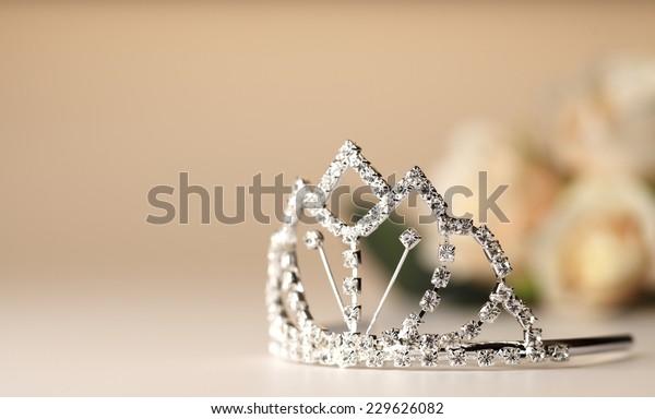 Beautiful wedding tiara