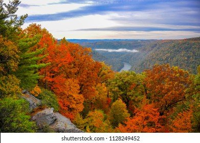 Beautiful West Virginia countryside in Autumn