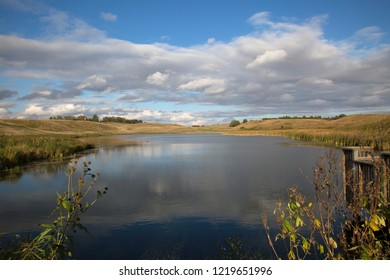 Beautiful Wetland Pond Slough