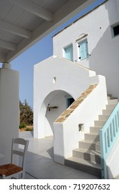 Beautiful white architecture from Greece