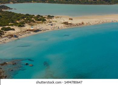 Beautiful White Beach in Sardinia