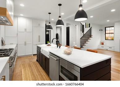 Modern Farmhouse Kitchens Images Stock Photos Vectors Shutterstock