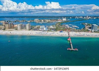 Beautiful white sand, blue turquoise waters of Clearwater Florida.  Photo Credit:  Marty Jean-Louis