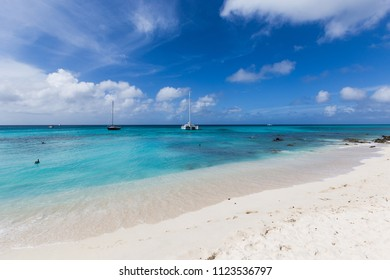 Beautiful white sanded beach with turquoise waters